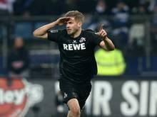 Simon Terodde trifft im Testspiel gegen Werder Bremen