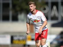 Fehlt RB Leipzig im Rückspiel gegen Craiova: Timo Werner