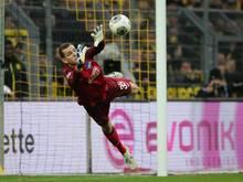 Hertha plant langfristig mit Nachwuchstorwart Gersbeck