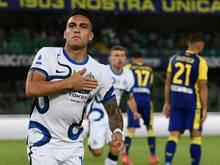 Meister Inter Mailand gewinnt nach Rückstand