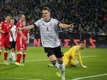 Matthias Ginter erzielte am Samstag das 1:0