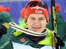 Julian Schmid geht als 13. in den Skilanglauf