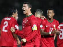 Cristiano Ronaldo ist weiterhin angeschlagen