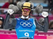 Johannes Rydzek bei den Winterspielen in Pyeongchang