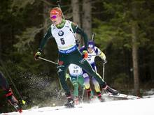 Benedikt Doll landete in Oberhof auf Platz vier