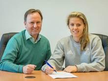 Jana Vojtekova verlängert ihren Vertrag in Sand bis 2018