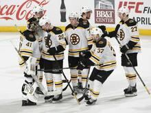 In den Play-offs: die Boston Bruins