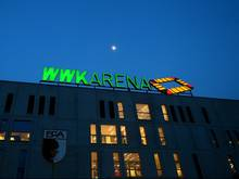 Augsburgs Bundesliga-Stadion diente als Notunterkunft bei einer Bombenentschärfung