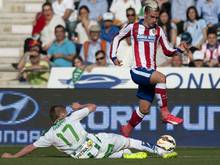 Antoine Griezmann brachte Atlético früh in Führung