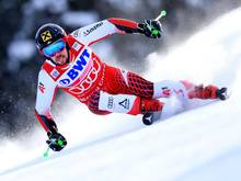 Der Österreicher Marcel Hirscher führt in Val d'Isere