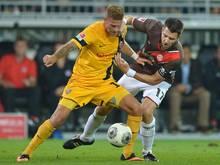 Mittelfeldspieler Tobias Kempe fällt verletzt aus