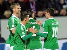 Abenteuer Färöer bestanden: DFB-Team jubelt