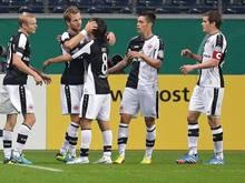 Eintracht bejubelt souveränen Sieg gegen Bochum