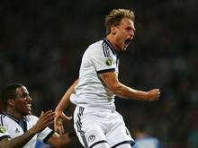 Schalke 04 dank Höwedes-Treffer eine Runde weiter