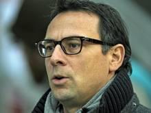 Club-Sportvorstand Martin Baders nächster Schuss muss sitzen