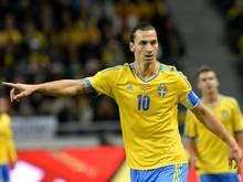 Gibt die Richtung vor: Zlatan Ibrahimovic