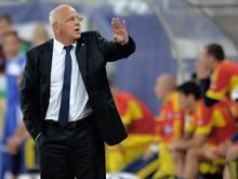 Nicht länger Nationaltrainer: Sándor Egervári