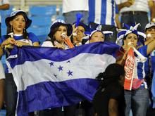 Honduras bei der Fußball-WM 2014 dabei