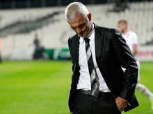 Fabrizio Ravanelli muss seinen Stuhl räumen