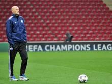 Kopenhagens Trainer Ståle Solbakken