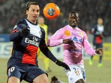 Niederlage für Paris um Zlatan Ibrahimovic